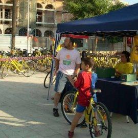 Punt de préstec de bicicletes