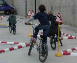 Proves d'habilitat en bicicleta