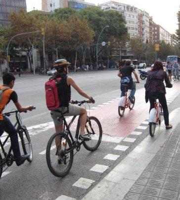 Estratègia de la bicicleta a Barcelona pel 2016-2018