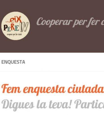Eix Pere IV. Procés de participació veïnal