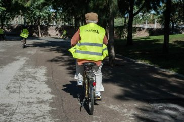 Curs d'aprendre a anar en bici Bàsic I Cod. V-184