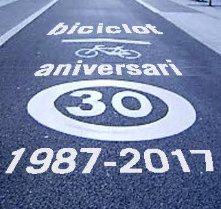 1987-2017: Celebrem el 30 aniversari de Biciclot