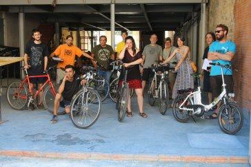 Biciclot comença el trasllat a Can Picó