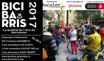 Bicibarris 2017-Les Corts- INSCRIU-TE!