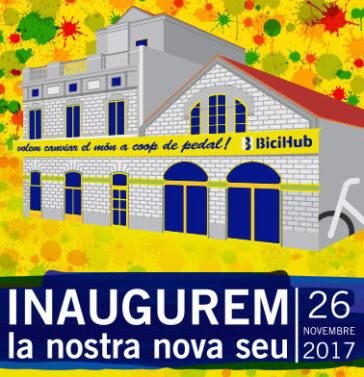 El 26 de novembre inaugurem la nostra nova seu
