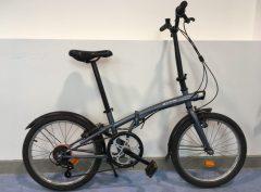 Bici plegable Btwin Gris