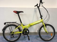Bici plegable Folding F Park verd