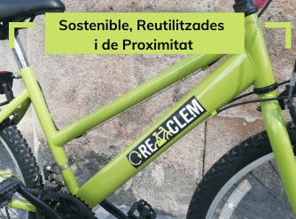 4. Pedala amb la bicicleta Rebiciclem